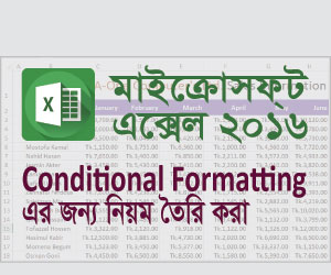 Create Conditional Formatting Rule in Excel Feature Image